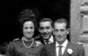 Pablo Cañamares con mis padres