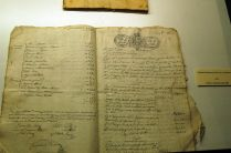Padrón de usos y consumos de 1830